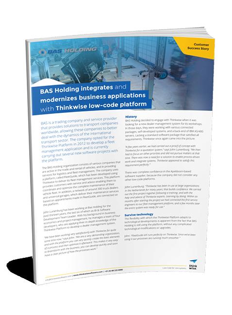 Customer Case BAS Holding