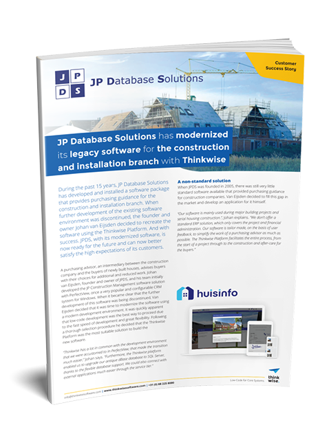 Customer case JP Database Solutions
