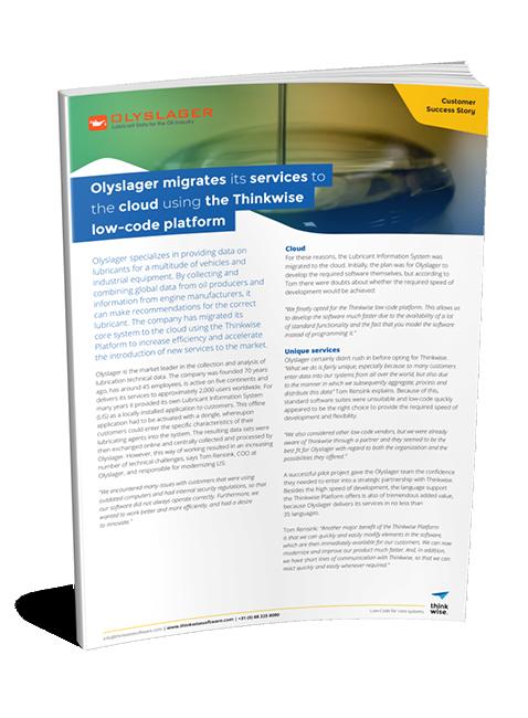 Customer case Olyslager
