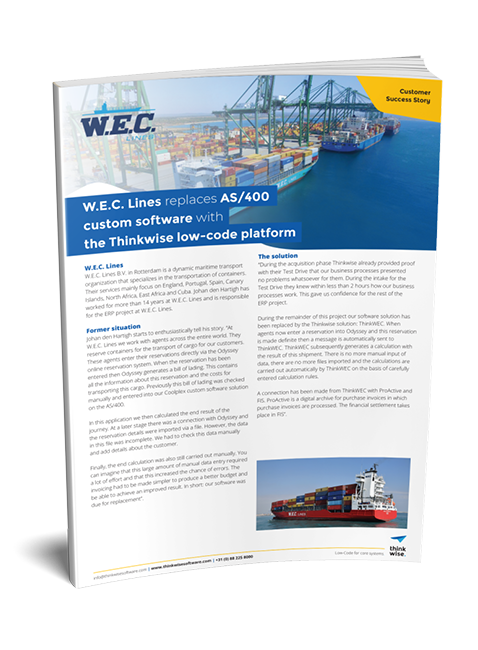 Customer case WEC Lines
